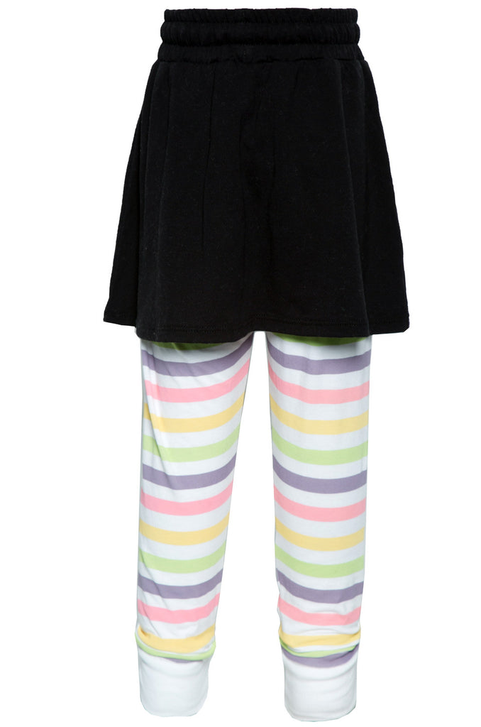 Speedy Mini Multi Stripes Skirt w/Legging