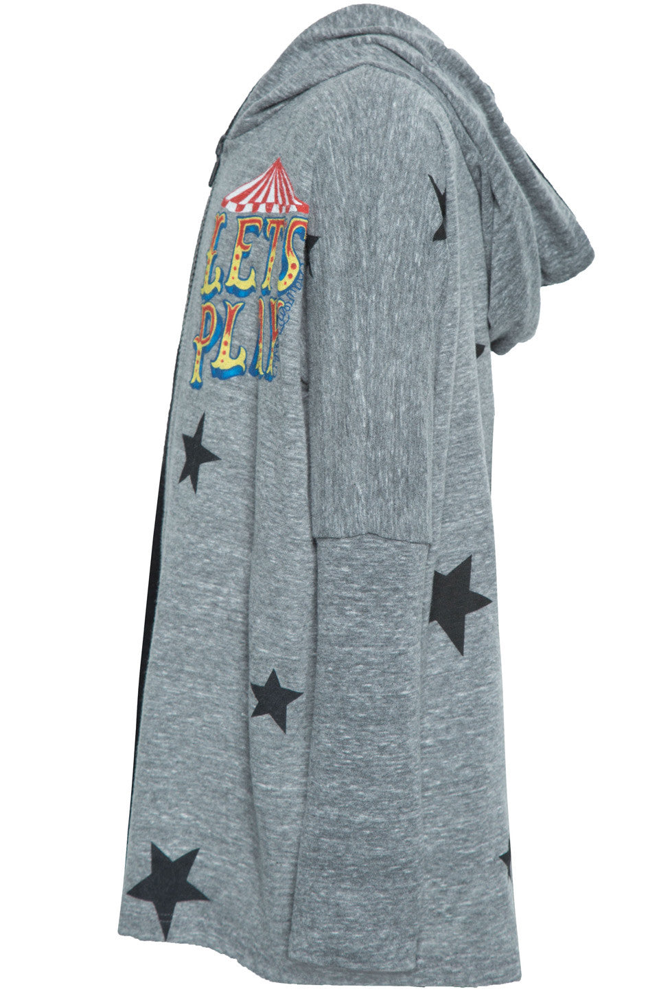 Lauren Moshi Kids Women's Elmer Let's Play w/Stars Zip Up Hoodie - 2