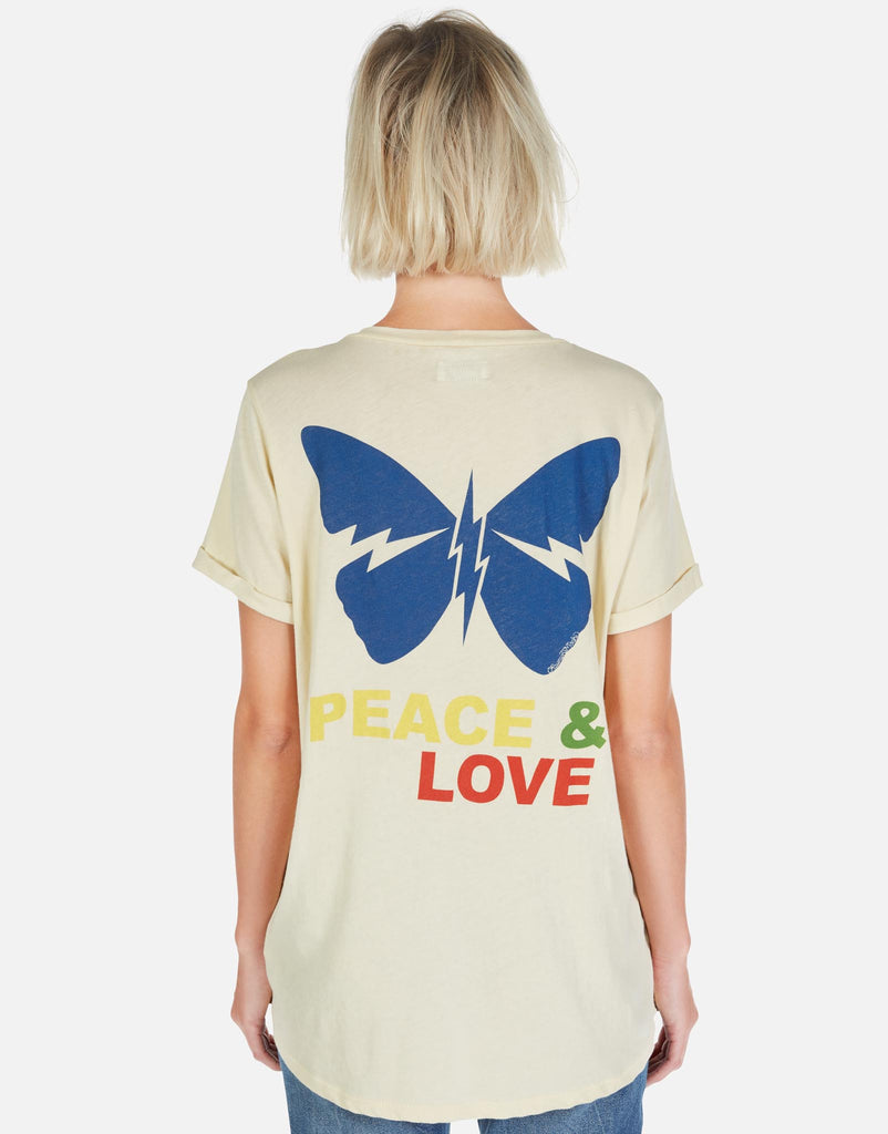 Iris Peace & Love Butterfly