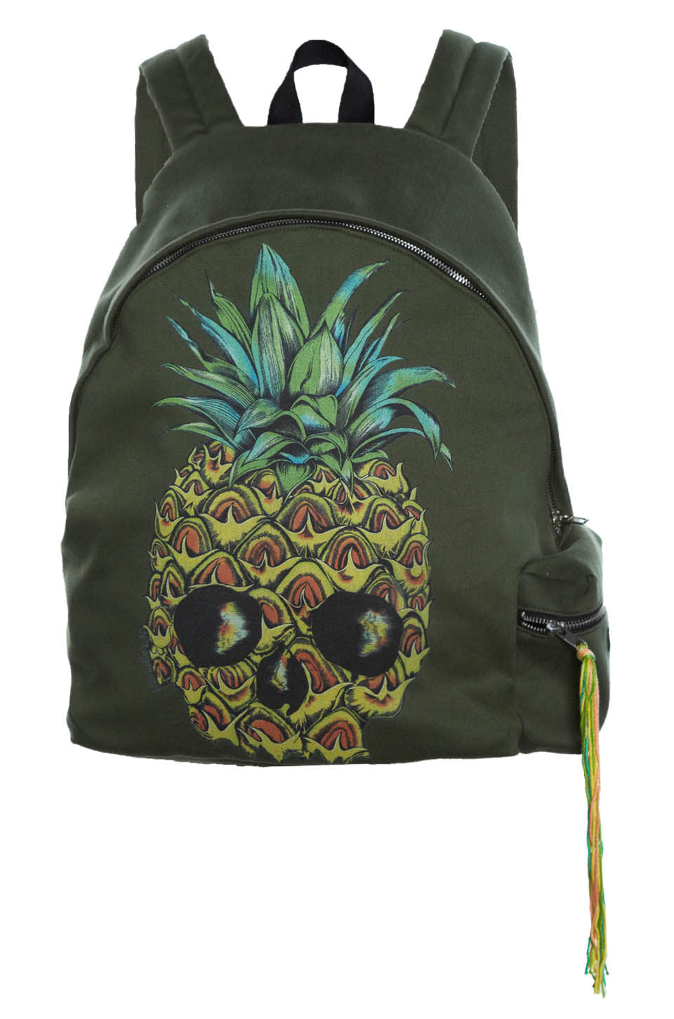 Quincy Color Pineapple Skull Backpack - Lauren Moshi - 2
