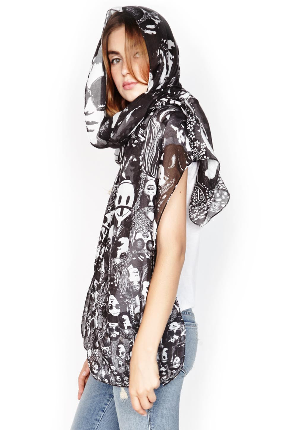 Flash Concert Long Scarf - Lauren Moshi