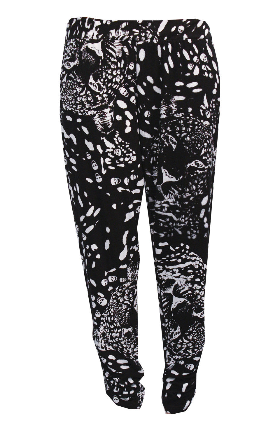 Mimi Leopard Print Pant with Sheering FINAL SALE - Lauren Moshi - 2