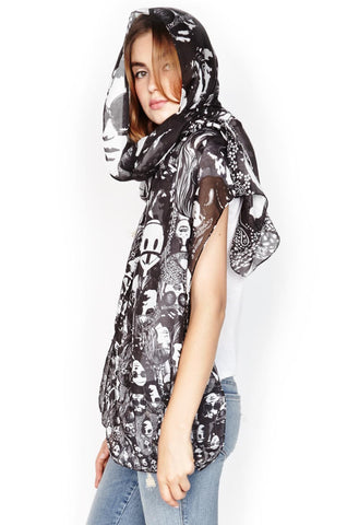 Flash Concert Long Scarf - Lauren Moshi - 1