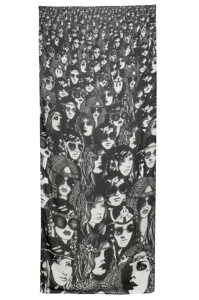 Flash Concert Long Scarf