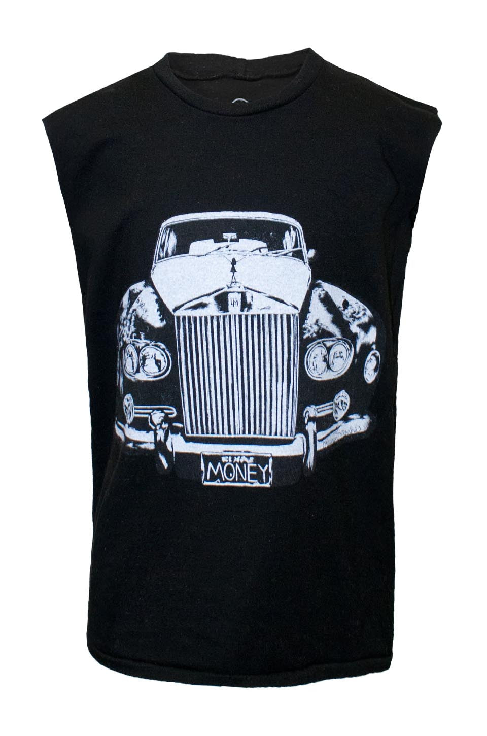 Lauren Moshi Kids Women's Thor Rolls Royce Muscle Tee - Black