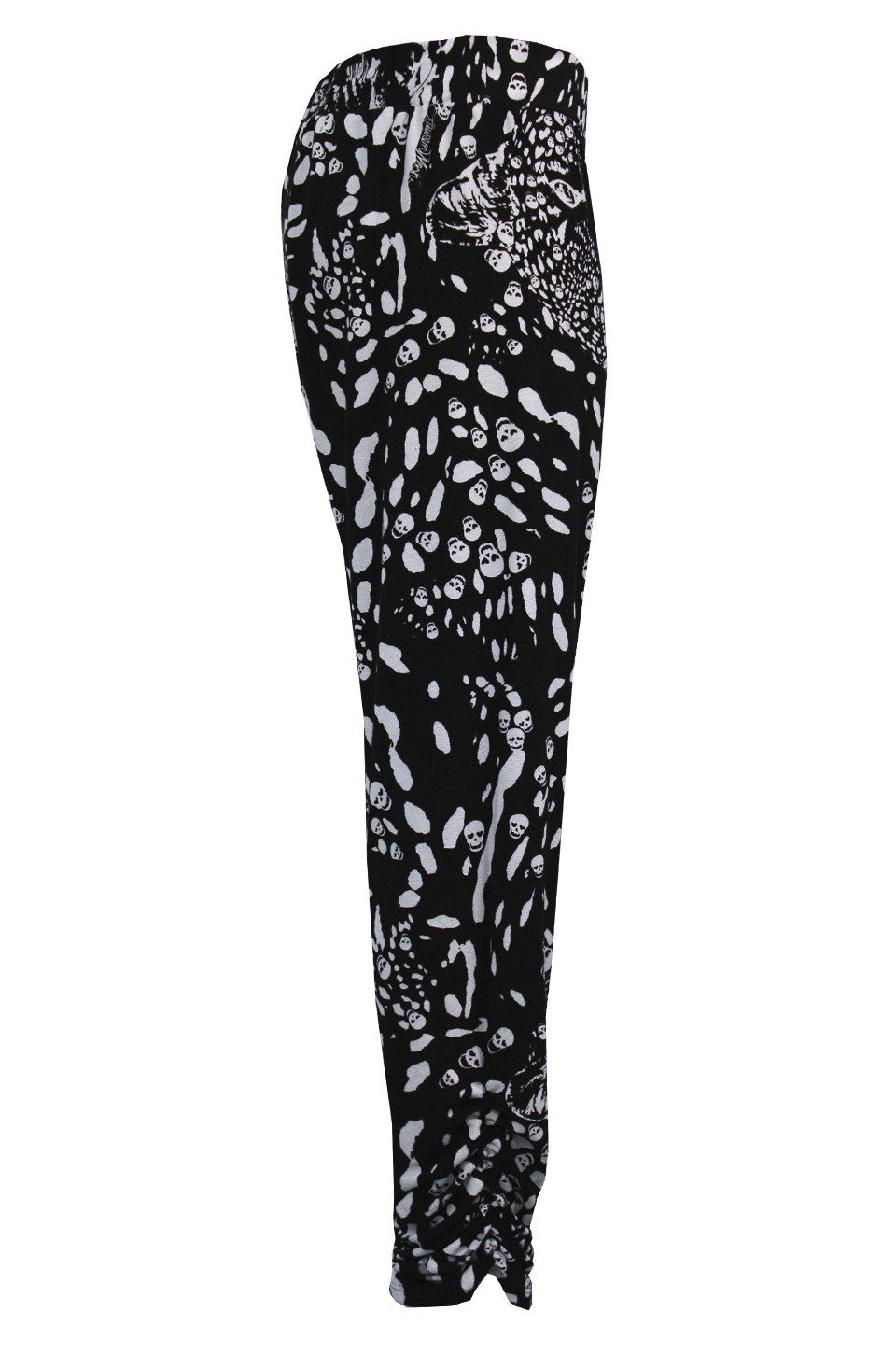 Mimi Leopard Print Pant with Sheering FINAL SALE - Lauren Moshi - 3