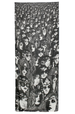 Flash Concert Long Scarf - Lauren Moshi - 2