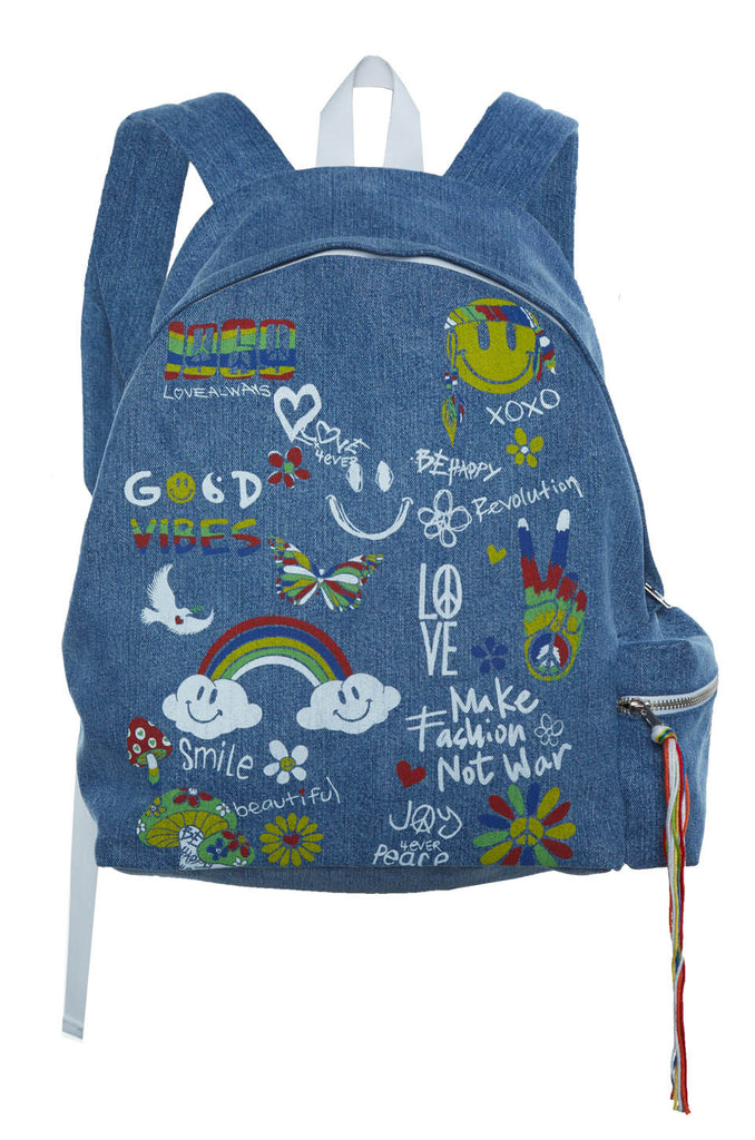 Quincy Good Vibes Backpack