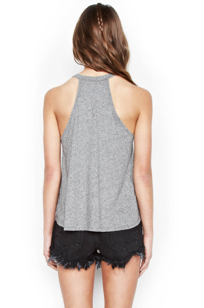 Libby Color Spirit Eagle Crop High Neck Tank - Lauren Moshi - 3