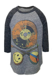 Bugs Color Record Raw Edge Raglan - Lauren Moshi - 2