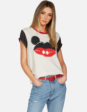 Claudia Mickey Mouse Lip