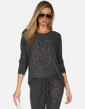 Everly Neon Stud Peace