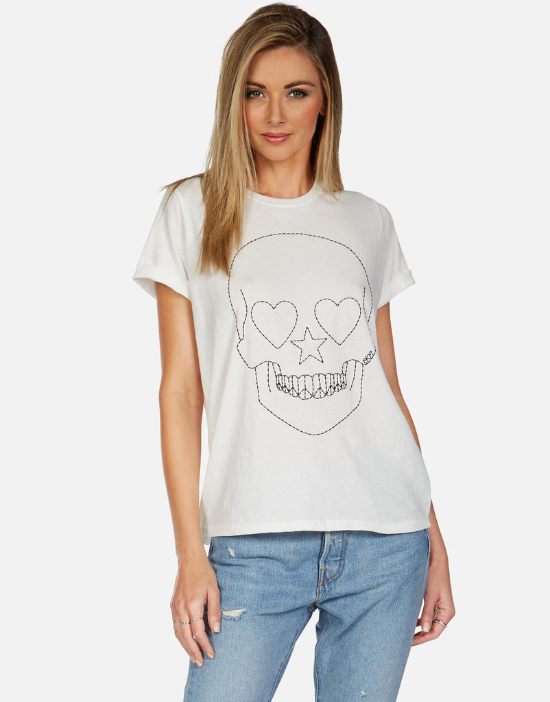 Edda Peace Love Skull