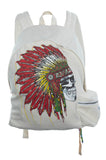 Quincy Special Skull Headdress Backpack - Lauren Moshi - 2