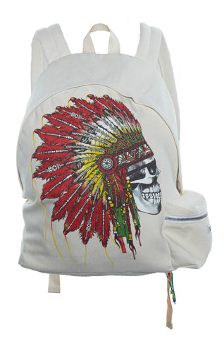 Quincy Special Skull Headdress Backpack - Lauren Moshi