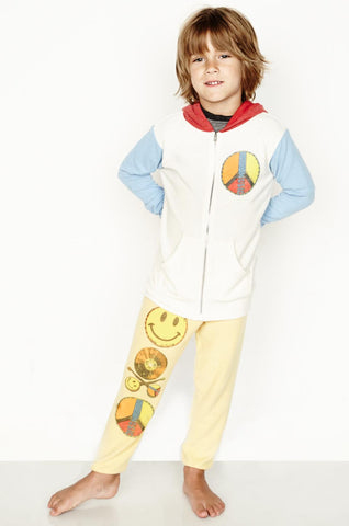 Elmer Let's Play w/Stars Zip Up Hoodie