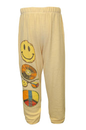 Mouse Color Record Leg Sweatpants W/ Elastic