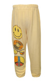 Mouse Color Record Leg Sweatpants W/ Elastic - Lauren Moshi - 2