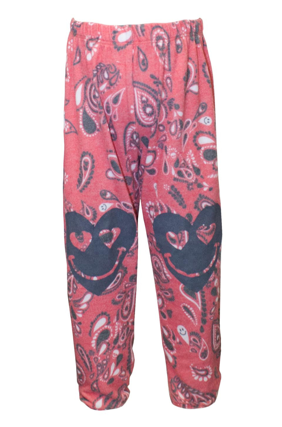 Mouse Happy Heart Leg Sweatpants W/  Elastic - Lauren Moshi - 2