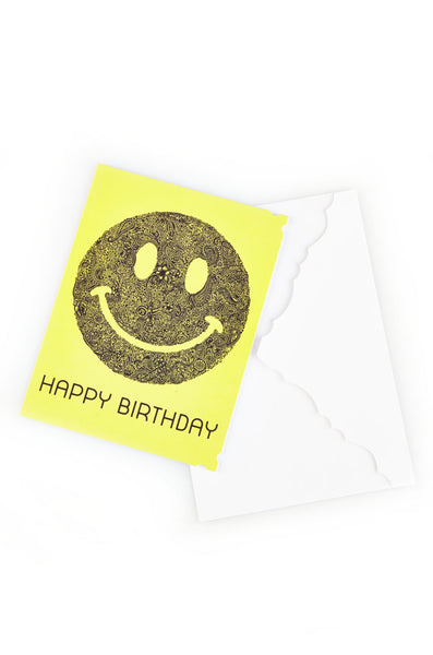 Happyface Greeting Card - Lauren Moshi - 1