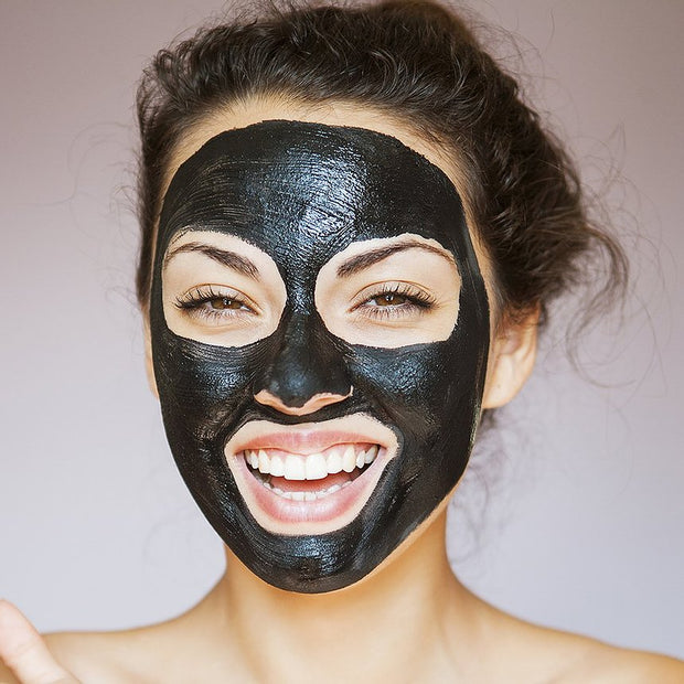 Ultra fine cleansing charcoal powder and Takesumi face mask