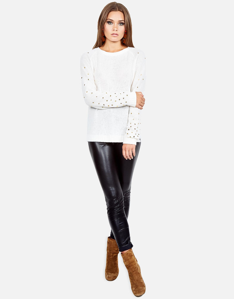 Poppy Studded Cashmere