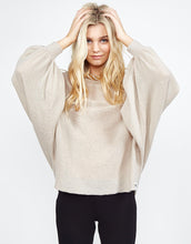 Paxten Oversized Draped Sweater