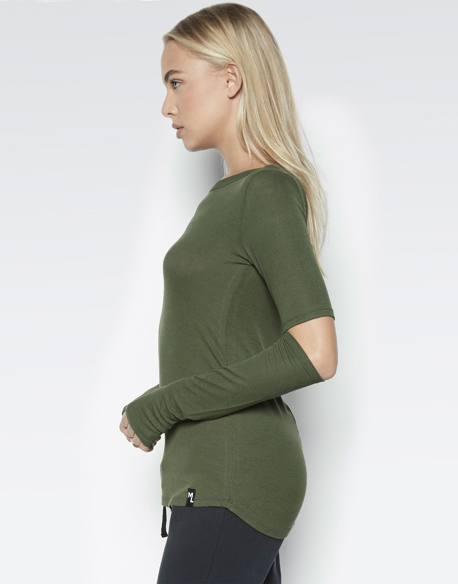 Solomon L/S Fitted Tee w/Elbow Slits