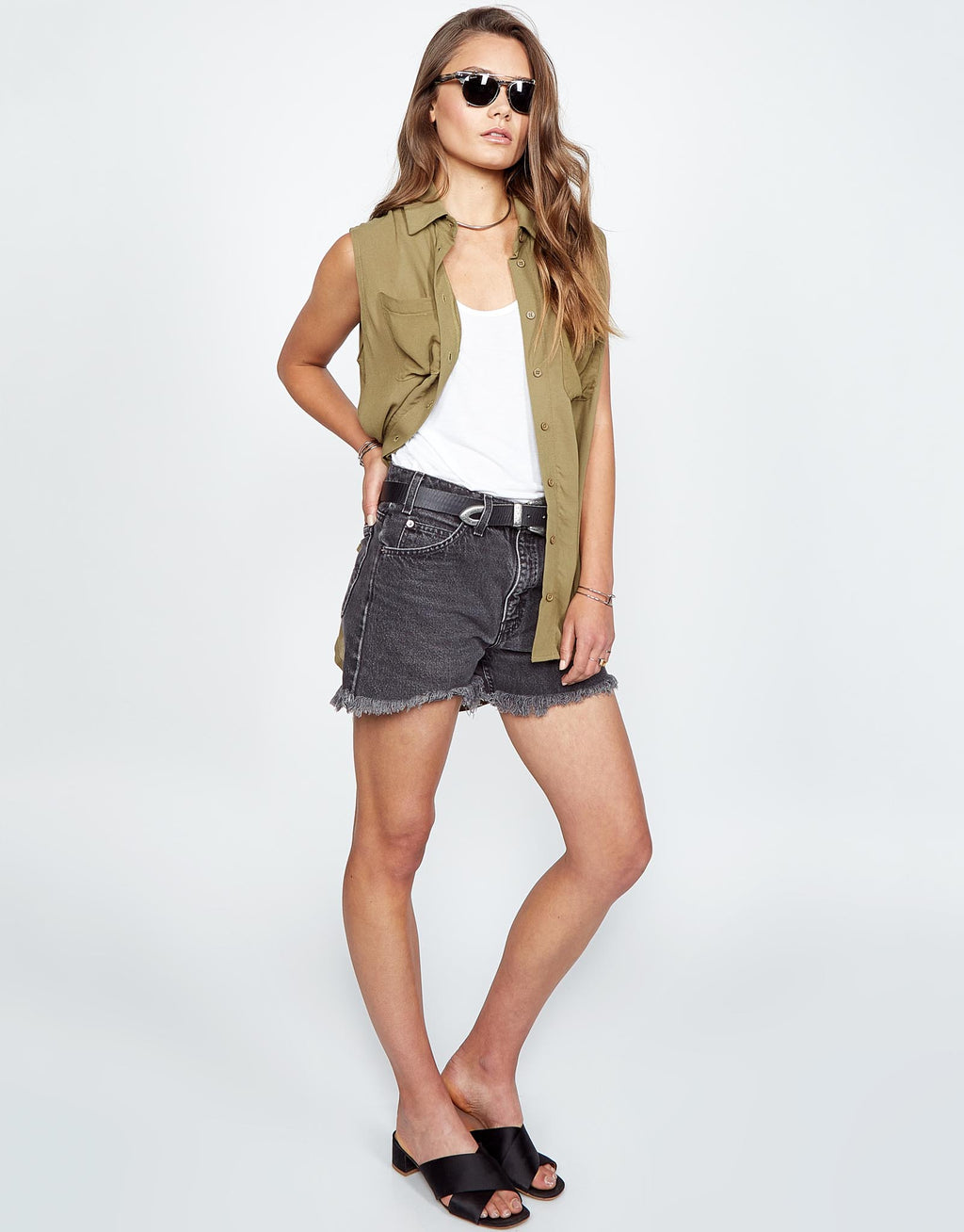 Samson Sleeveless Top