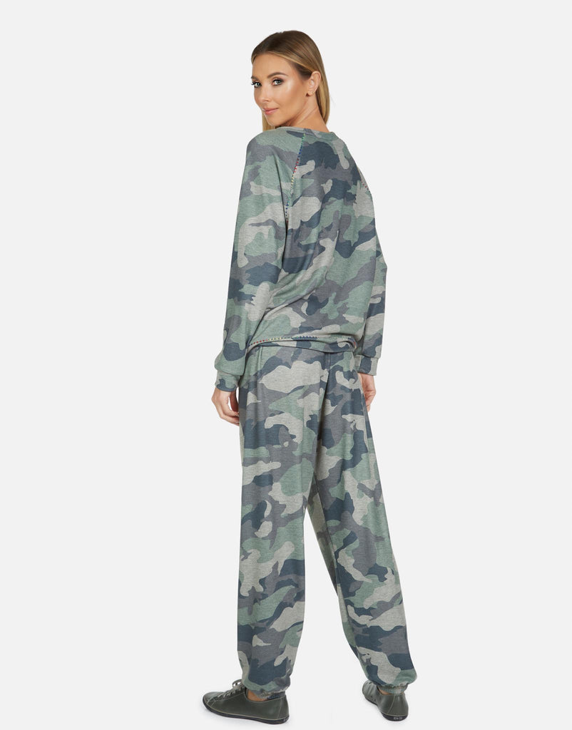 George LE Army Camo Sweatpant