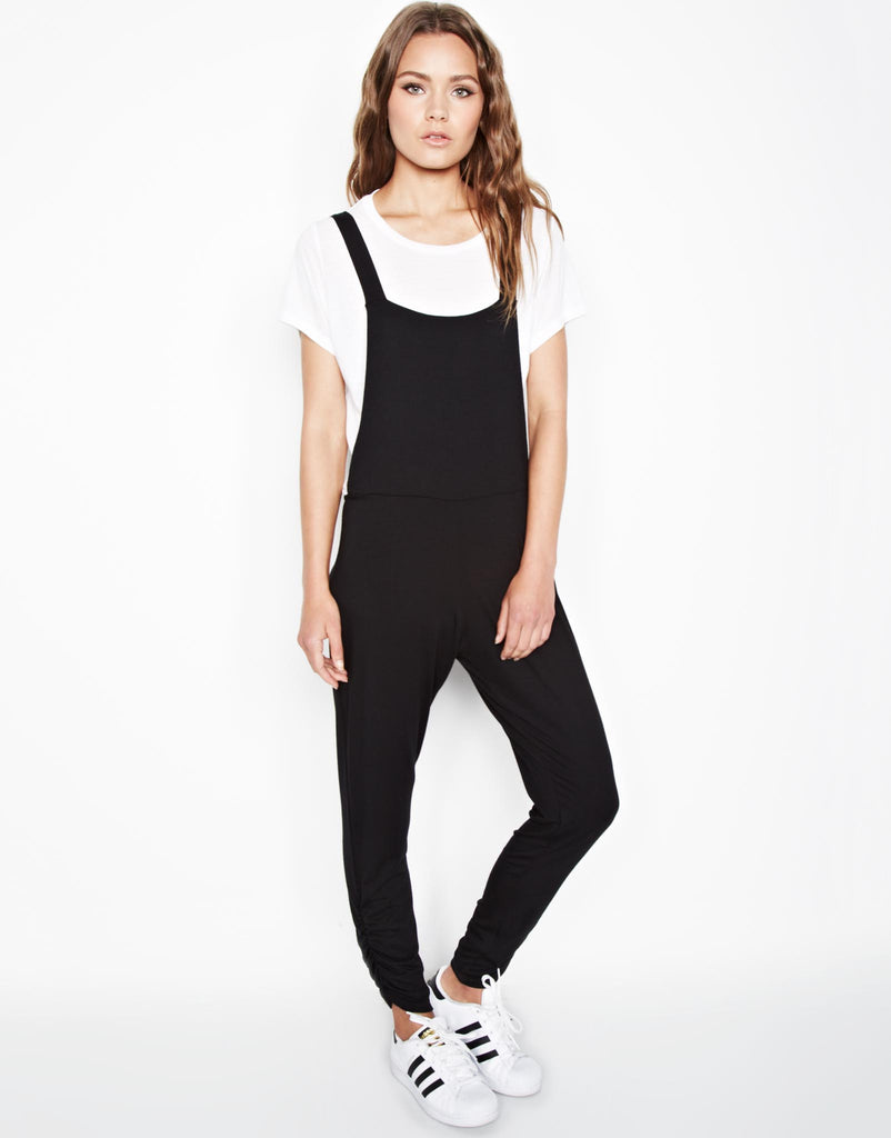 Paco Overall Pants w/Shirring