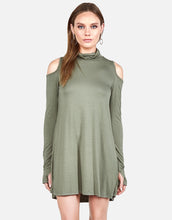 Harp Turtleneck Dress