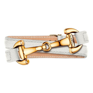 ASCOT Dimacci white gold plated