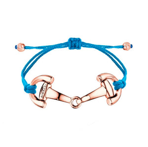 PONY Dimacci royal blue rose gold plated