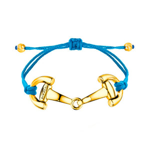 PONY Dimacci royal blue gold plated