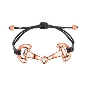 PONY Dimacci Black Rose Gold Plated