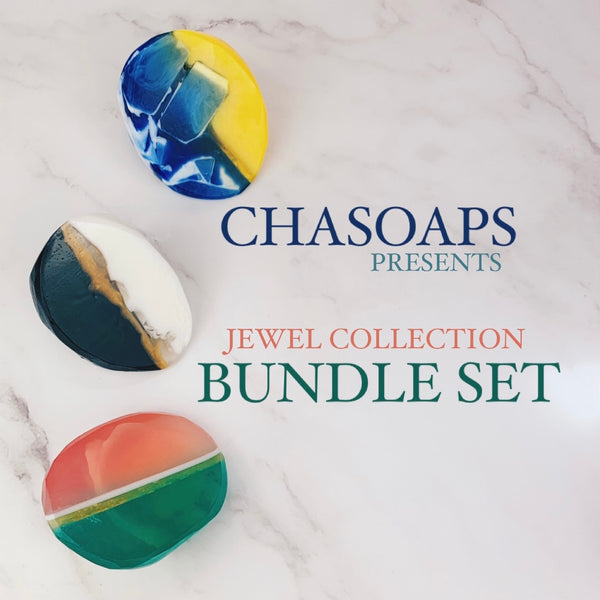 Jewel Collection Bundle - Cha Soaps