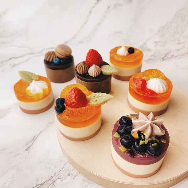Mousse Cake Bundle Set - Cha Soaps