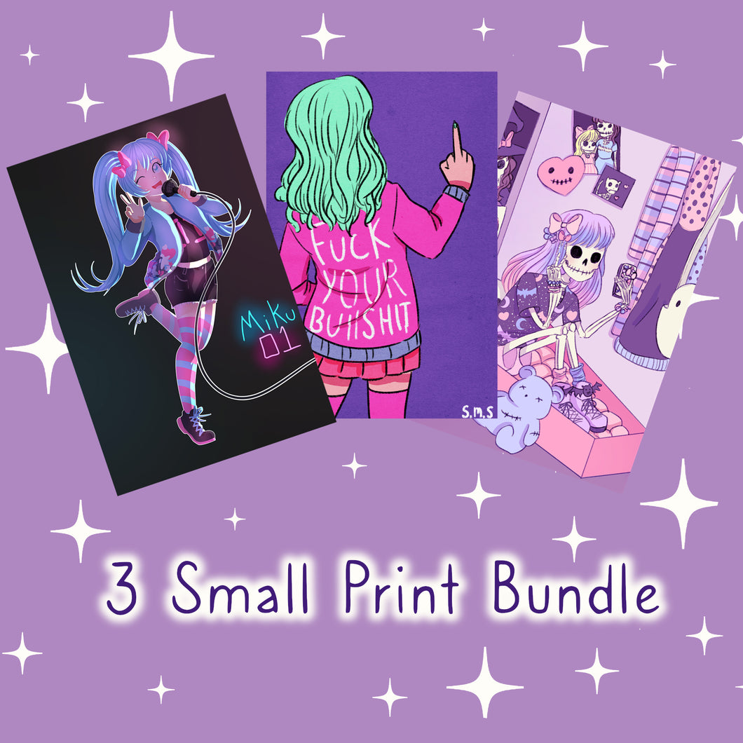 Small Print Bundle (3 for $10)