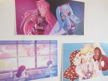 Load image into Gallery viewer, Rockin' Miku/Luka Print