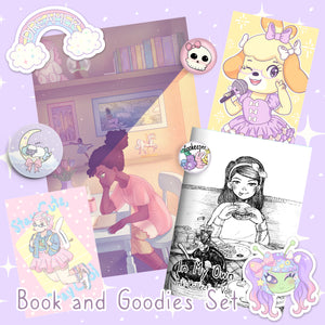 Book and Goodies Set
