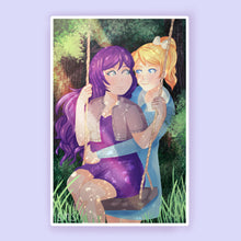 Load image into Gallery viewer, Eli/Nozomi Secret Swing Print