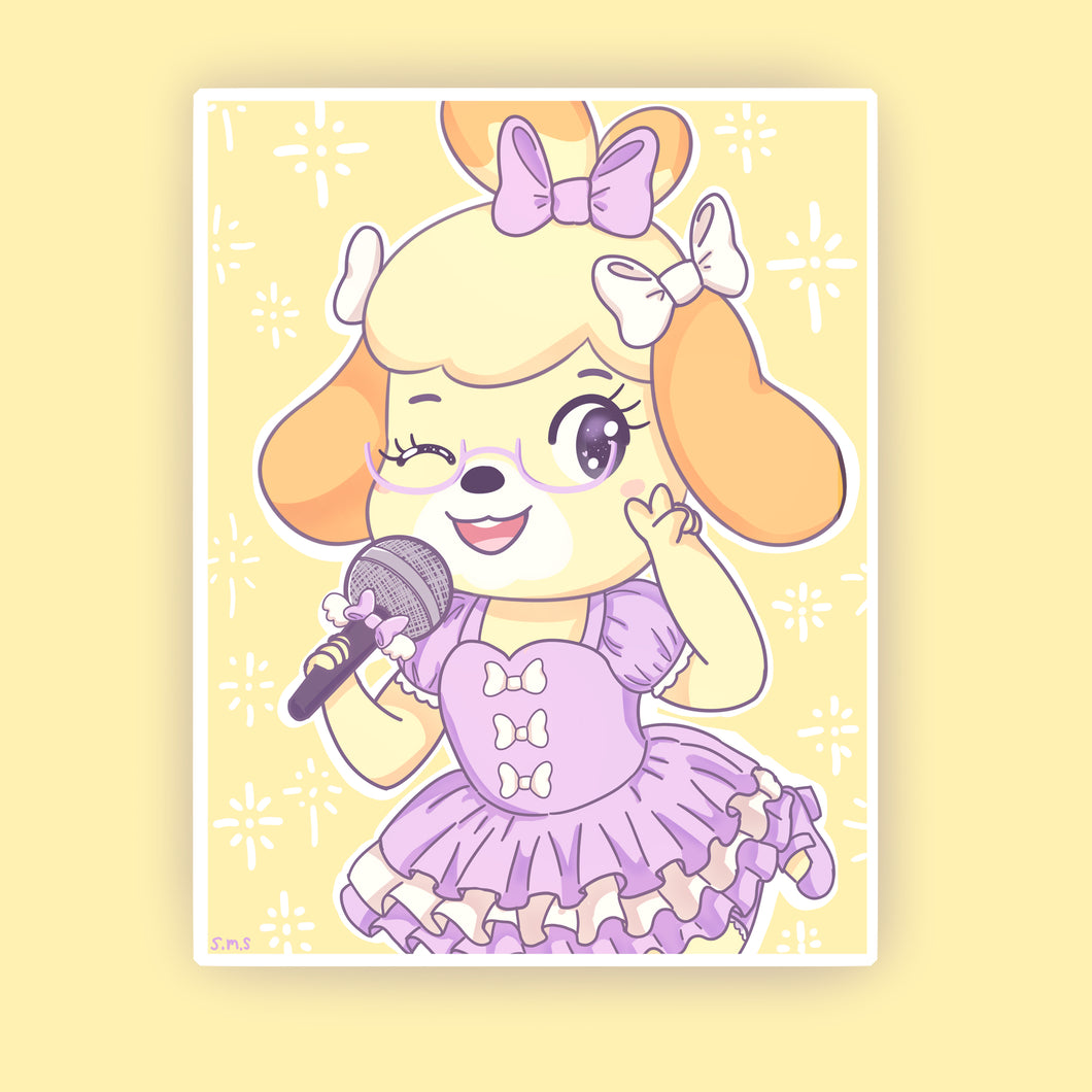 Idol Isabelle Prints