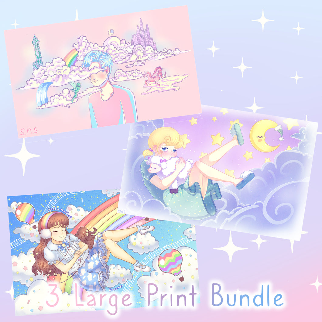 Large Print Bundle (3 for $35)