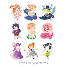 Load image into Gallery viewer, Love Live! μ's Charms