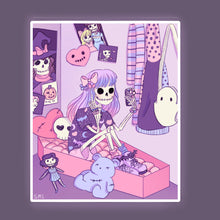Load image into Gallery viewer, Skelegirl Bedroom