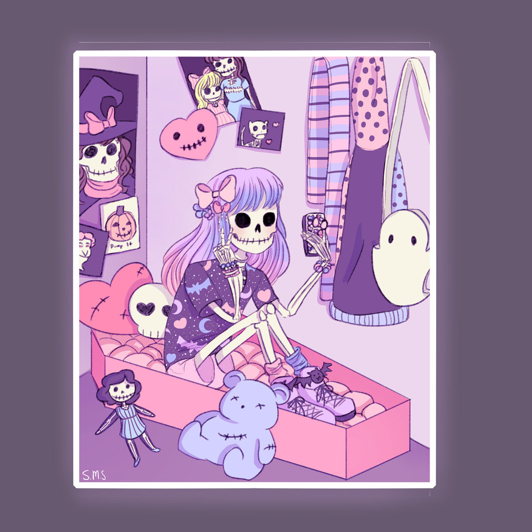 Skelegirl Bedroom