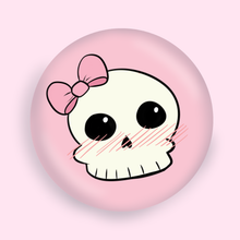 "Load image into Gallery viewer, Cutie Skull 1"" Button"