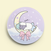 "Load image into Gallery viewer, Sleepy Sheepie 2.25"" Button"