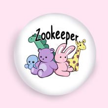 "Load image into Gallery viewer, Zookeeper 1"" Button"